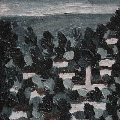 "_thumb_Desmond Mnyila.  ""Watery…"" Oil on canvas. 17, 9 cm x 13cm. 2014"